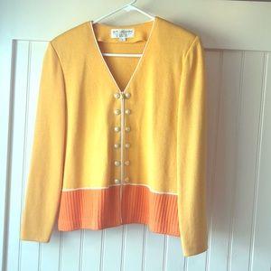 St. John sweater jacket